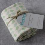 Organic Cotton Baby Blankets [Birdie Print]