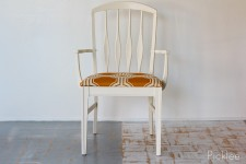 Manderin Circles Mod Arm Chair