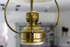 Vintage Brass Latern by Kosmos Brenner