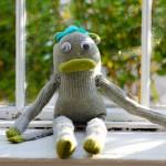 Meet Cicily, The Handmade Sock Monkey