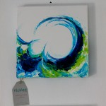 Hand Painted Wave Painting by Jennifer Rashleigh [crest]