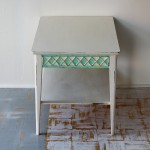 Criss Cross Accent Table