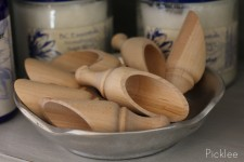 Wooden Scoop for Sugar Scrub