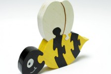BumbleBee Puzzle for Children [Handmade Wood]