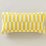 Deconstructed Blocks Citrine Pillow by Dwell Studio