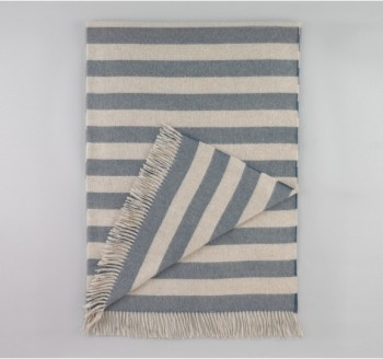 draper-stripe-chinois-blue-throw