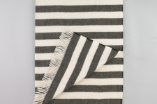 Draper Stripe Major Brown Throw by Dwell Studio