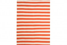 Draper Stripe Rug Persimmon 5×8 by Dwell Studio