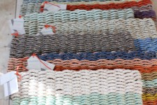 Handmade Recycled Float Rope Door Mats