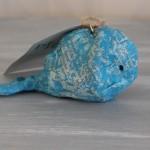 Newsprint Whale Ornament
