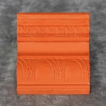 """Kissimmee Orange"" CeCe Caldwell's Chalk + Clay Paint"