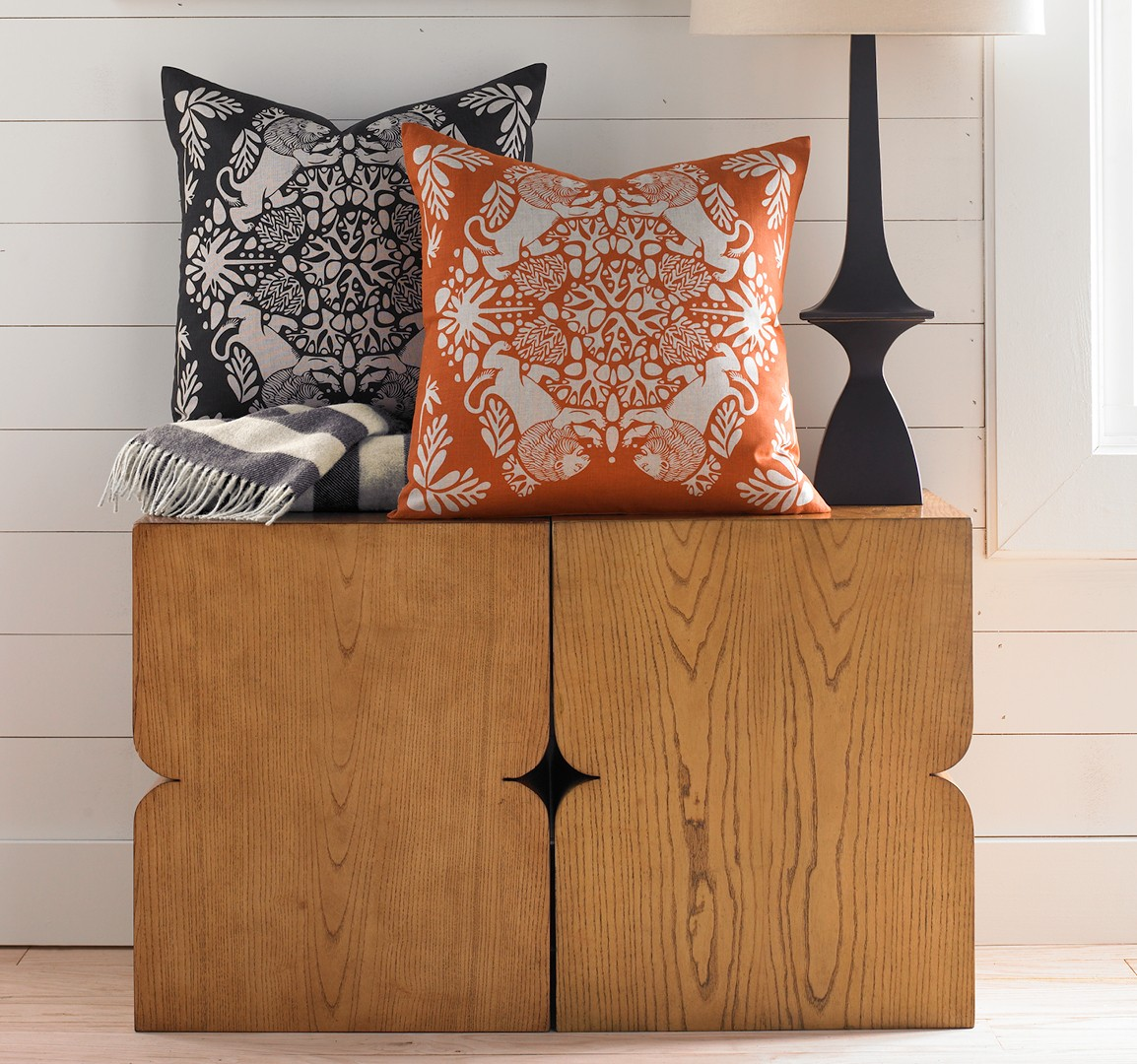 lion ink pillow by dwell studio  picklee on spring -