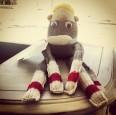Meet Baxter, The Handmade Sock Monkey