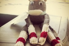 Meet Baxter, The Handmade Sock Monkey