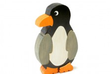 Handmade Wood Penguin Puzzle for Children