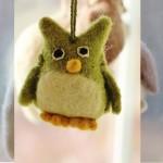 Handmade Wool Christmas Ornaments