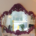 New Orleans Purple Venetian Mirror