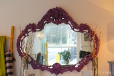 New Orleans Purple Venetian Mirror