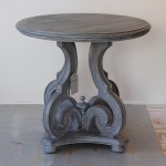 Fiddlehead Washed Gray Table