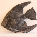 Vintage Cast Iron Fish Wall Mount