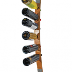 Recycled Wine Barrel Rack [wall mounted]