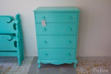 Key West Cottage Tall Boy Dresser