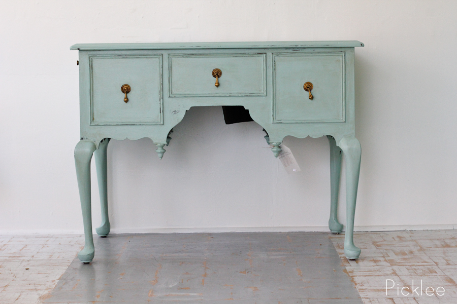 High Quality Light Blue Painted Vintage Chinese Console Table 2 Source · Antique Queen  Anne Music Console Table Picklee On Spring