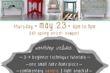 Chalk Paint Workshop-5/23/13 Sign up!