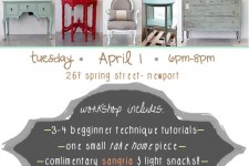 Chalk Paint Workshop-4/1/14 Sign up!