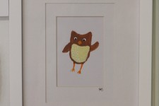 """Orson the Owl"" Original Painting for Little Picklee"