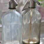 Vintage Industrial Seltzer Bottle