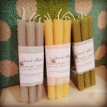 bees-wax-candles-natural-tapers