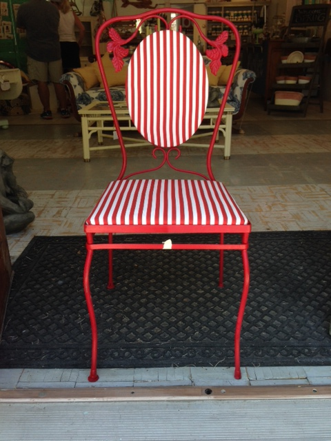 Good Candy Cane Ice Cream Parlor Chair (Set Of 2)