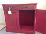 red cabinet#1