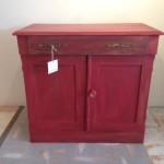 Newport Farmhouse Harvest Cabinet