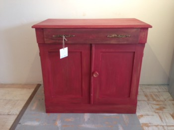 red cabinet#2