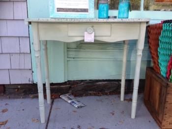 green desk#1