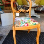 Colonial Floral Vintage Chair