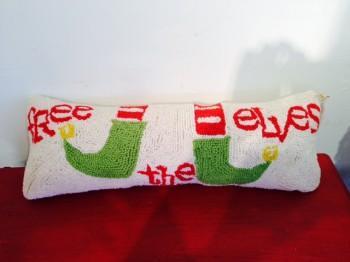 elves pillow