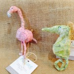 Handmade Paper Mache Ornaments