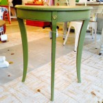 Aspen Half Round Accent Table