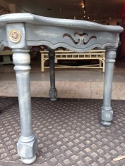 gray side table#@