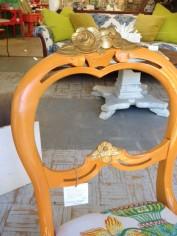 orange chair#2