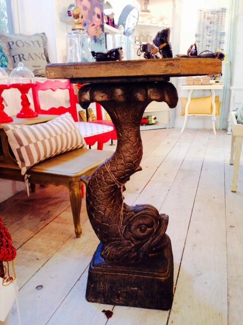 Gurgle Fish Side Table Picklee On Spring