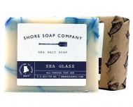 shore soap co-handmade-sea glass